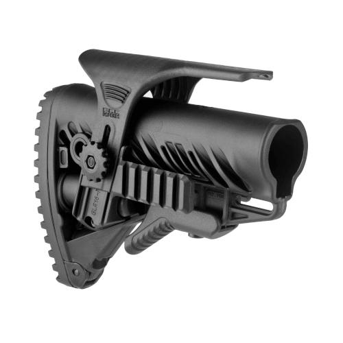 Schulterstütze AR15 / M16 / M4 Stil - Wangenauflage / Rail