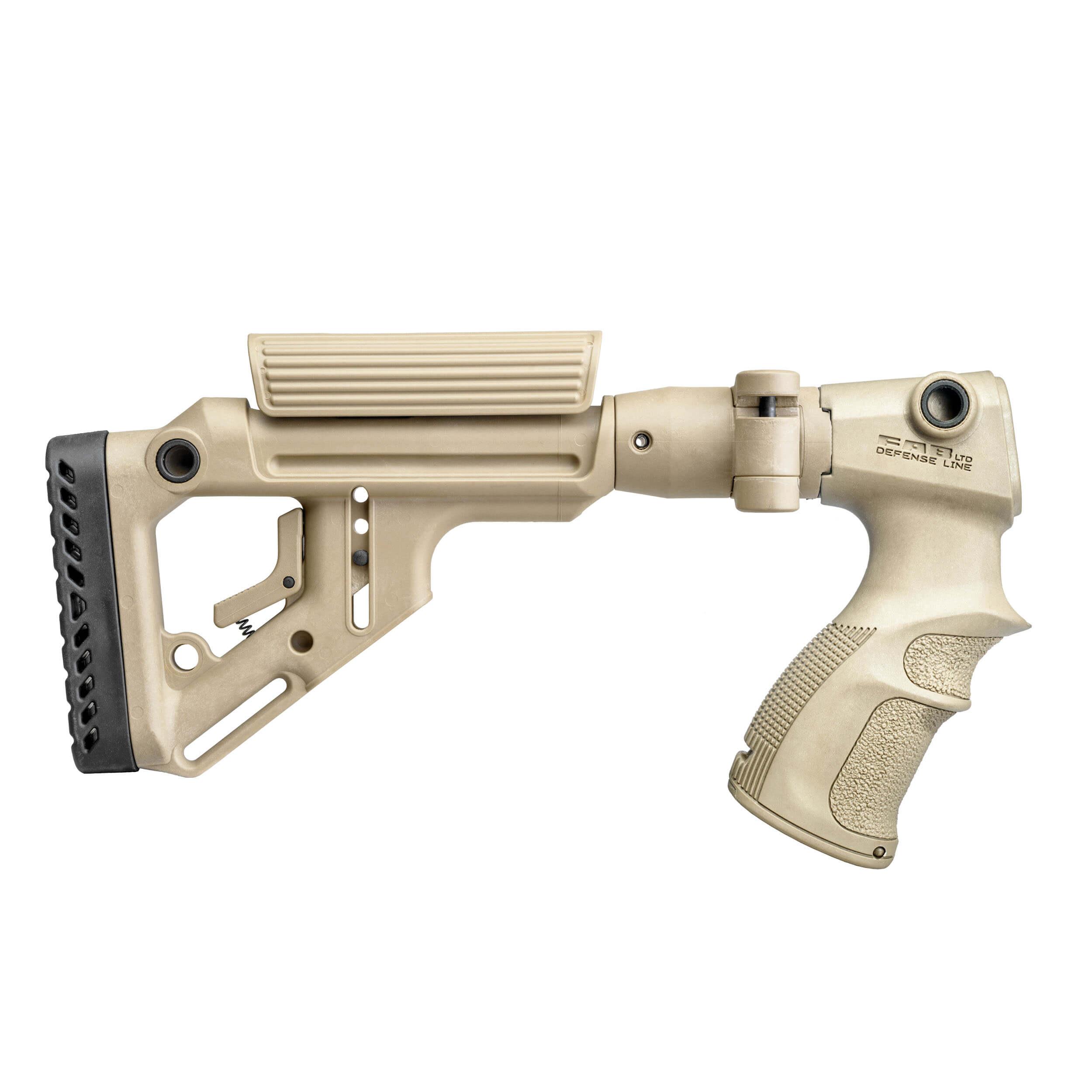 Remington 870 folding buttstock / cheek rest