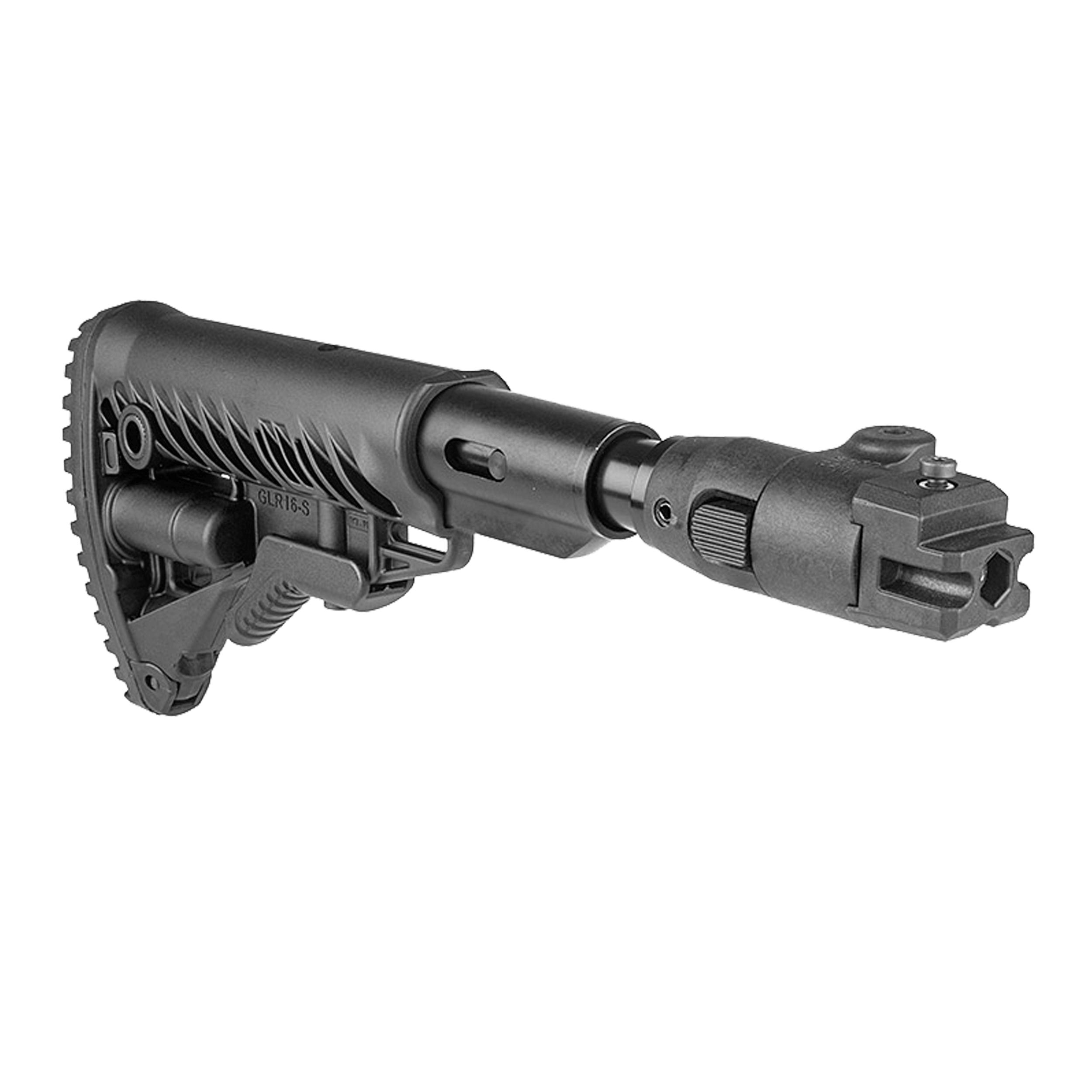 AK47 folding buttstock / shock absorbing (Polymer Joint)
