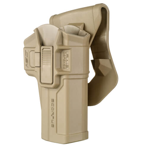 Glock .45 Level 2 Swivel Retention Holster