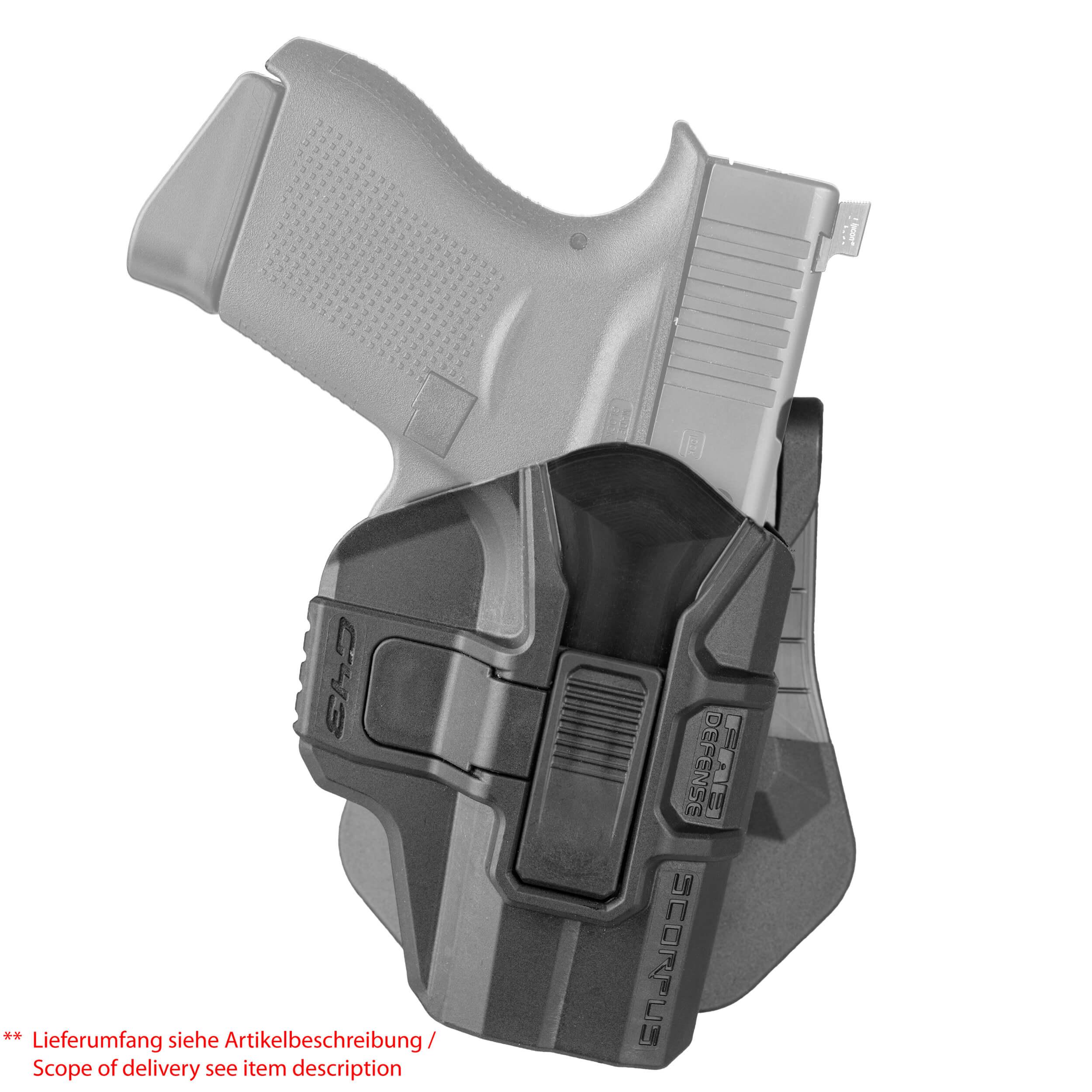 Glock 43 Holster - 360° (Level 2)