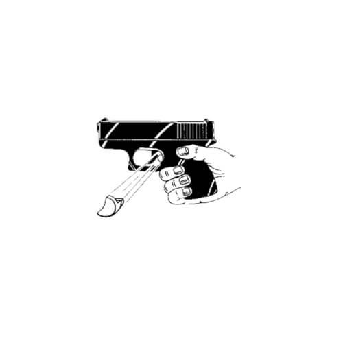 Clip Draw Abzugssicherung Glock