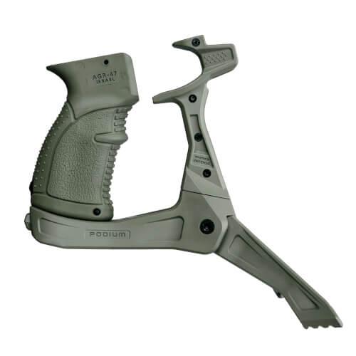 AK-47 Pistolengriff mit Zweibein