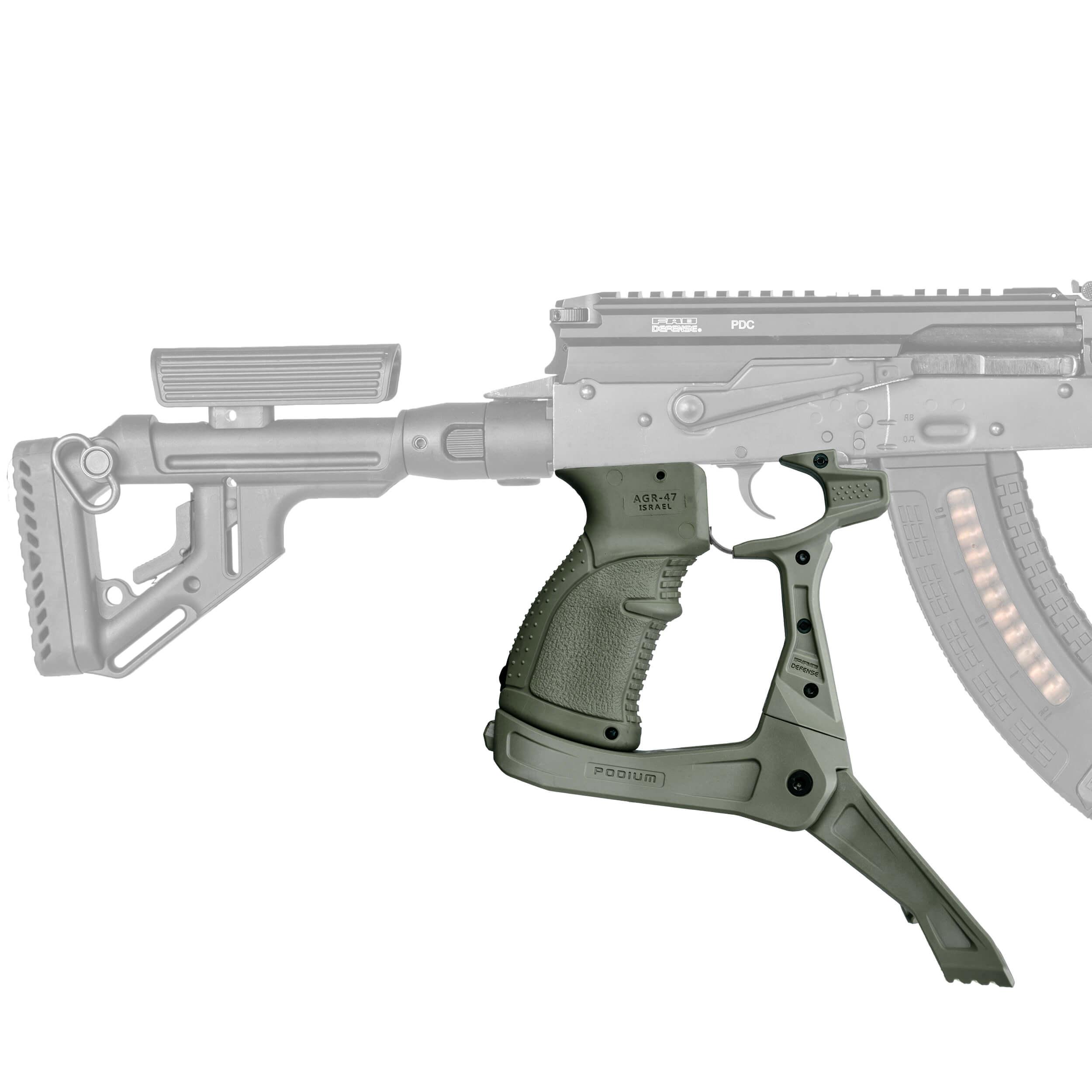 AK-Podium Pistolgrip Bipod for AK-47