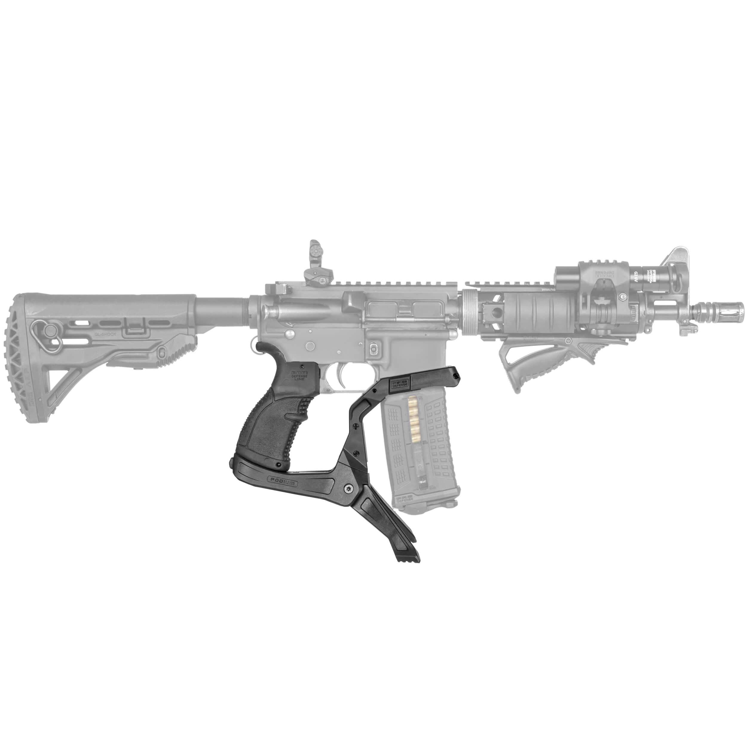 AR-Podium Pistolgrip Bipod for M16 / M4 / AR-15