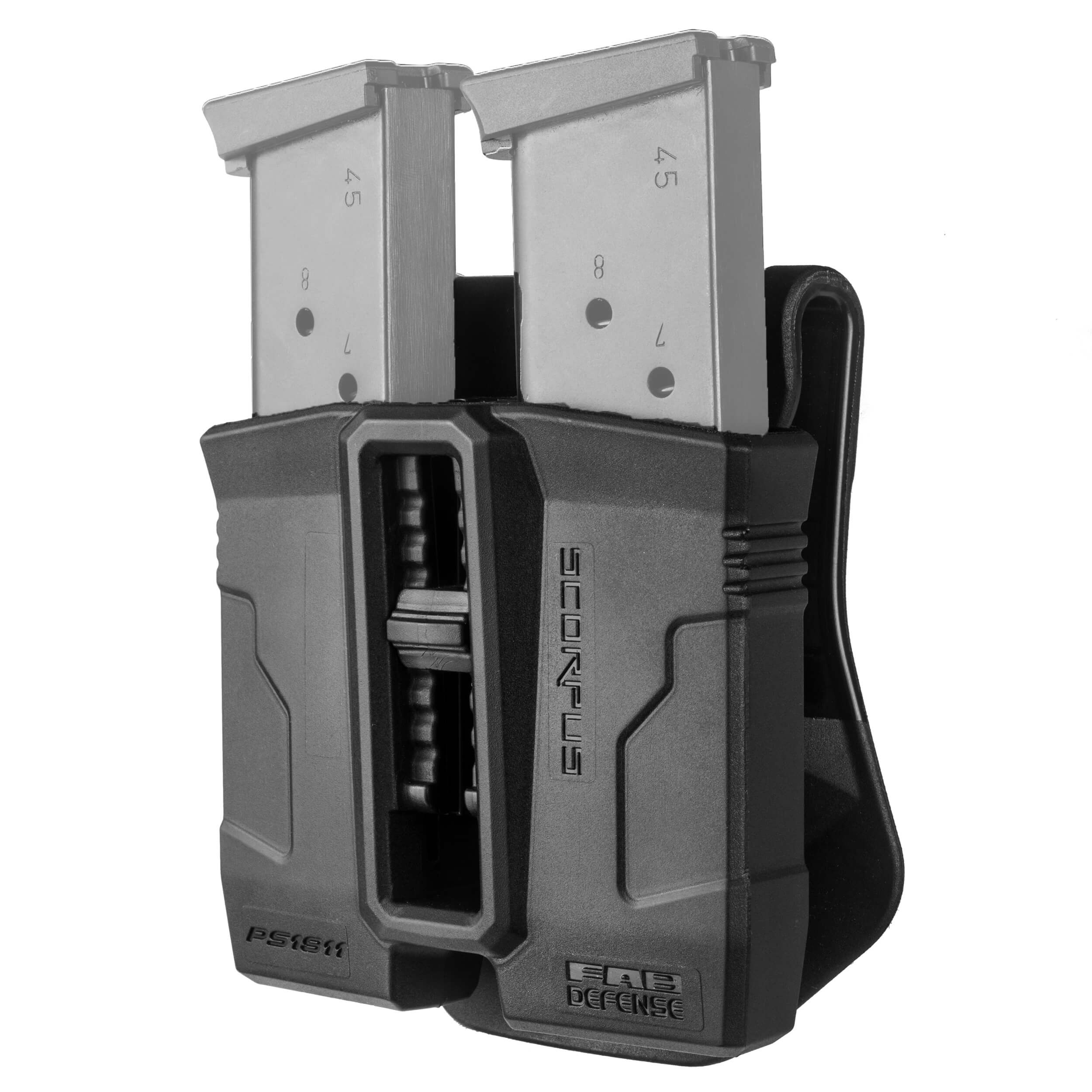Double Magazine Pouch 360° for Colt 1911