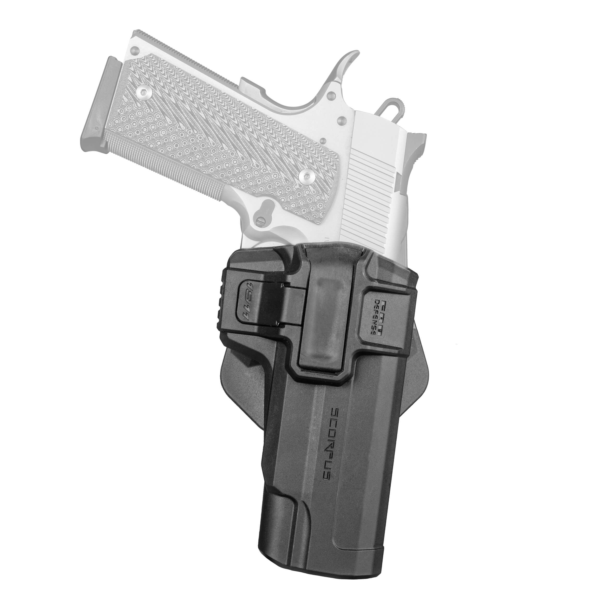 1911 S ( Level 1 ) 360° rotating M1 Holster
