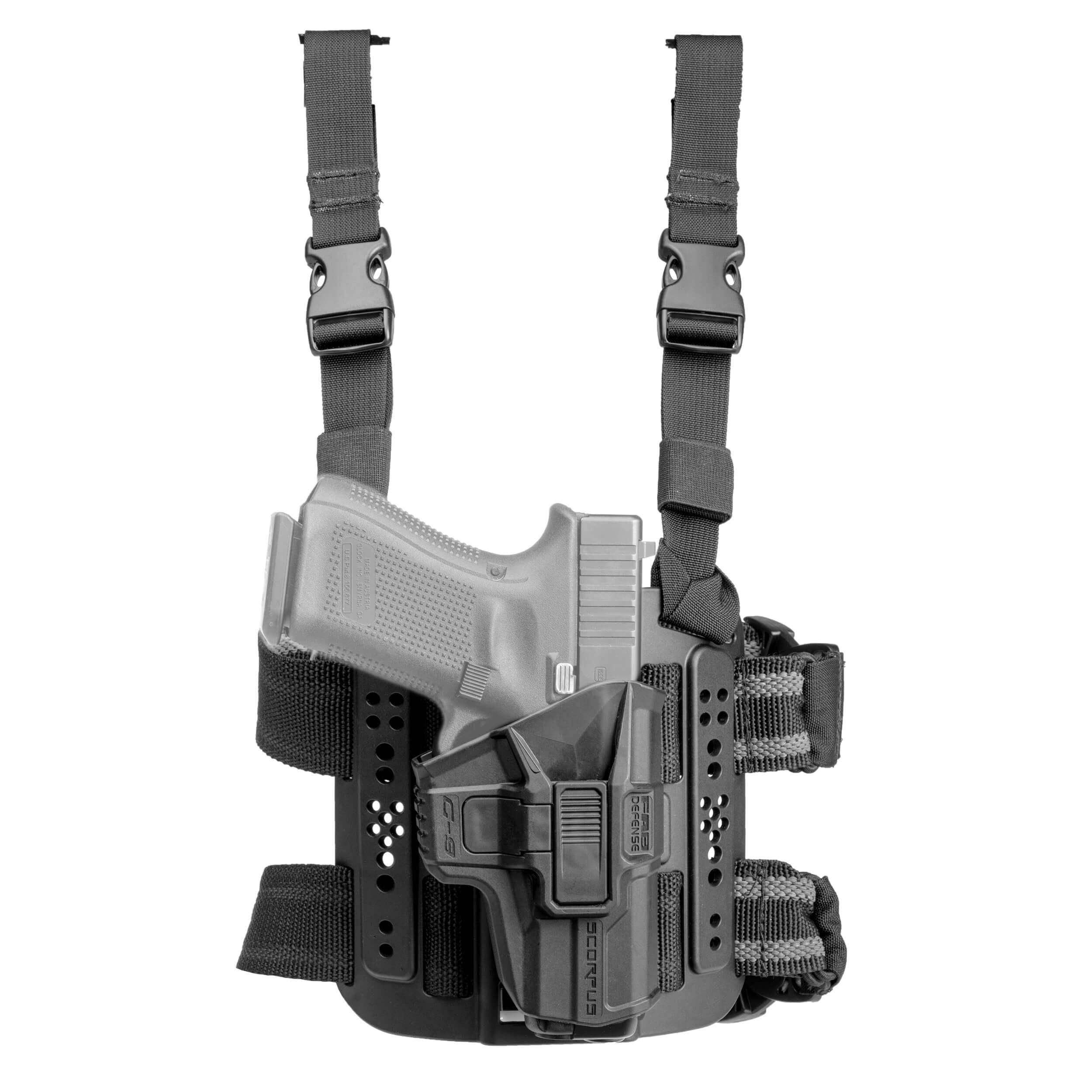 Oberschenkelholster MTR Glock 17/19