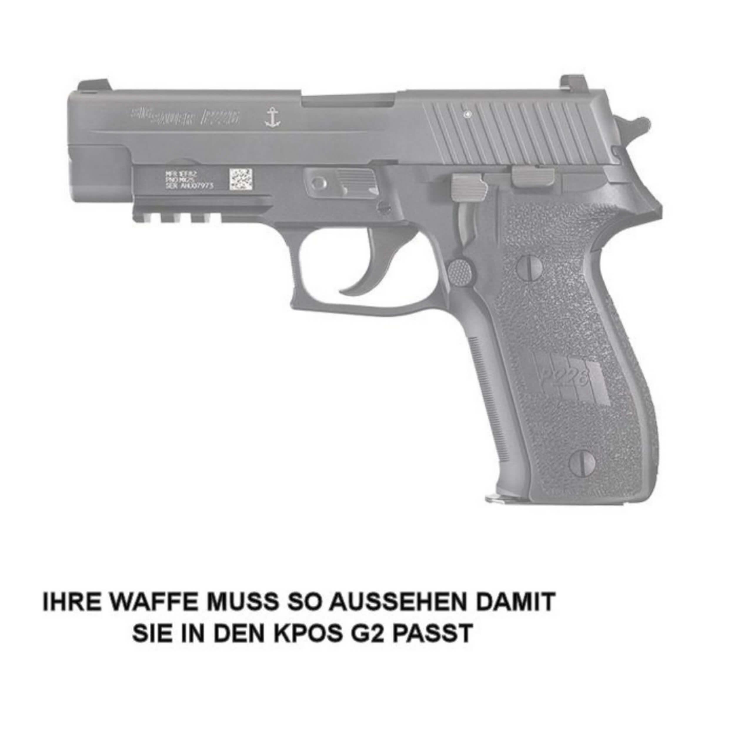 KPOS G2C / M4 SIG P226 / MK25