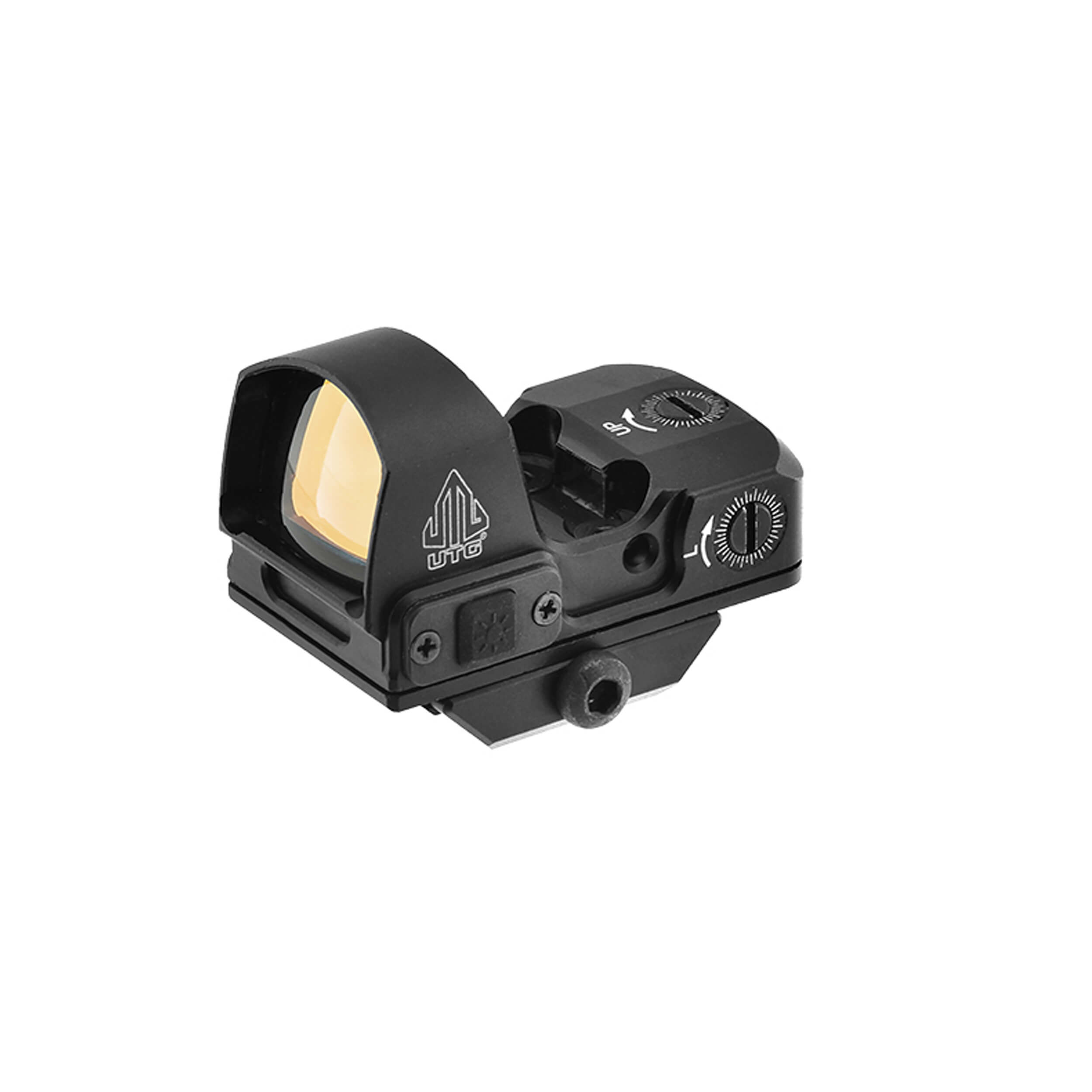 UTG® Reflex Micro Dot, Red 4 MOA Single Dot, Adaptive Base