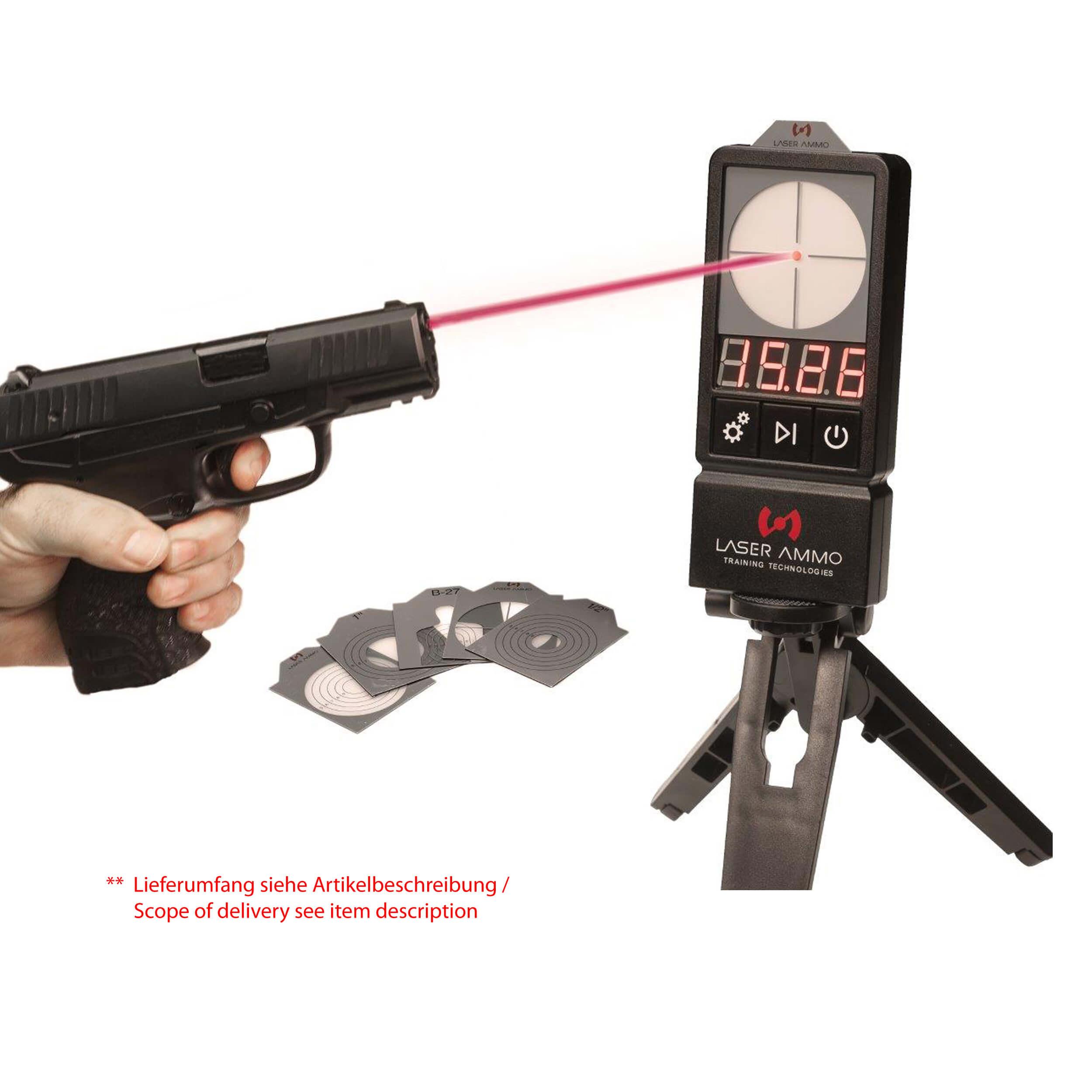 LaserPET™ II + SureStrike 9mm cartridge