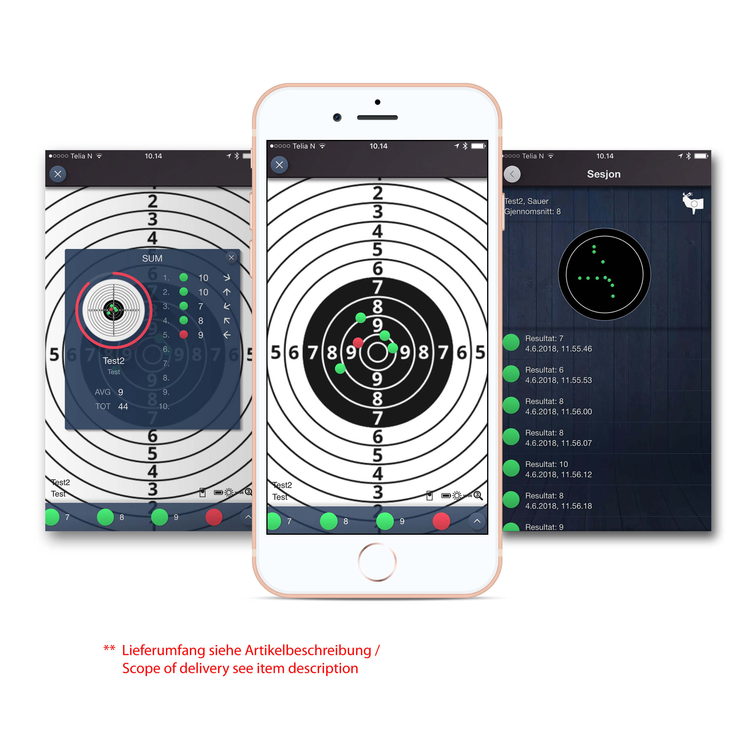 Laser Accurate Target - Accurize