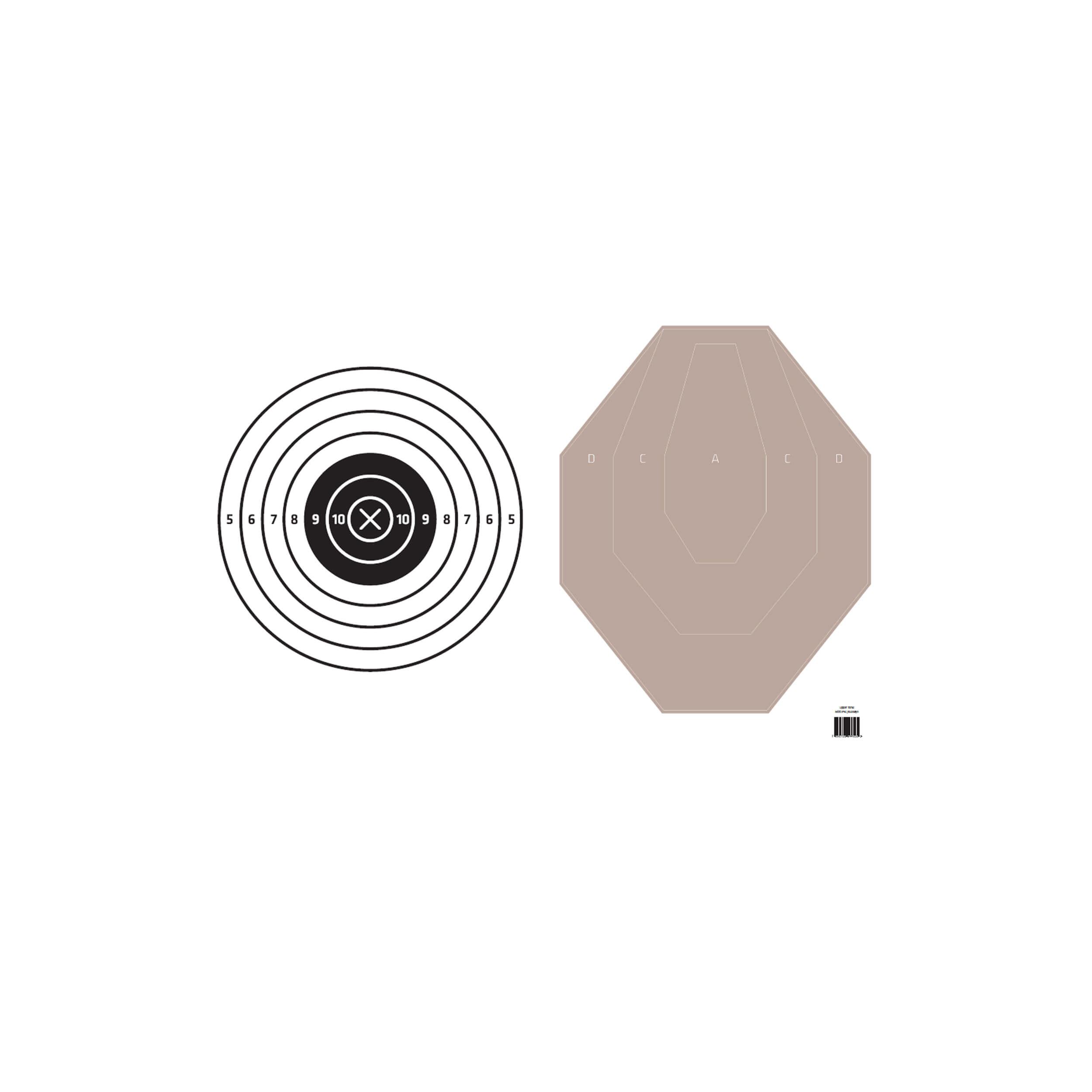 Upper Torso - IPSC / Bullseye Target Cover