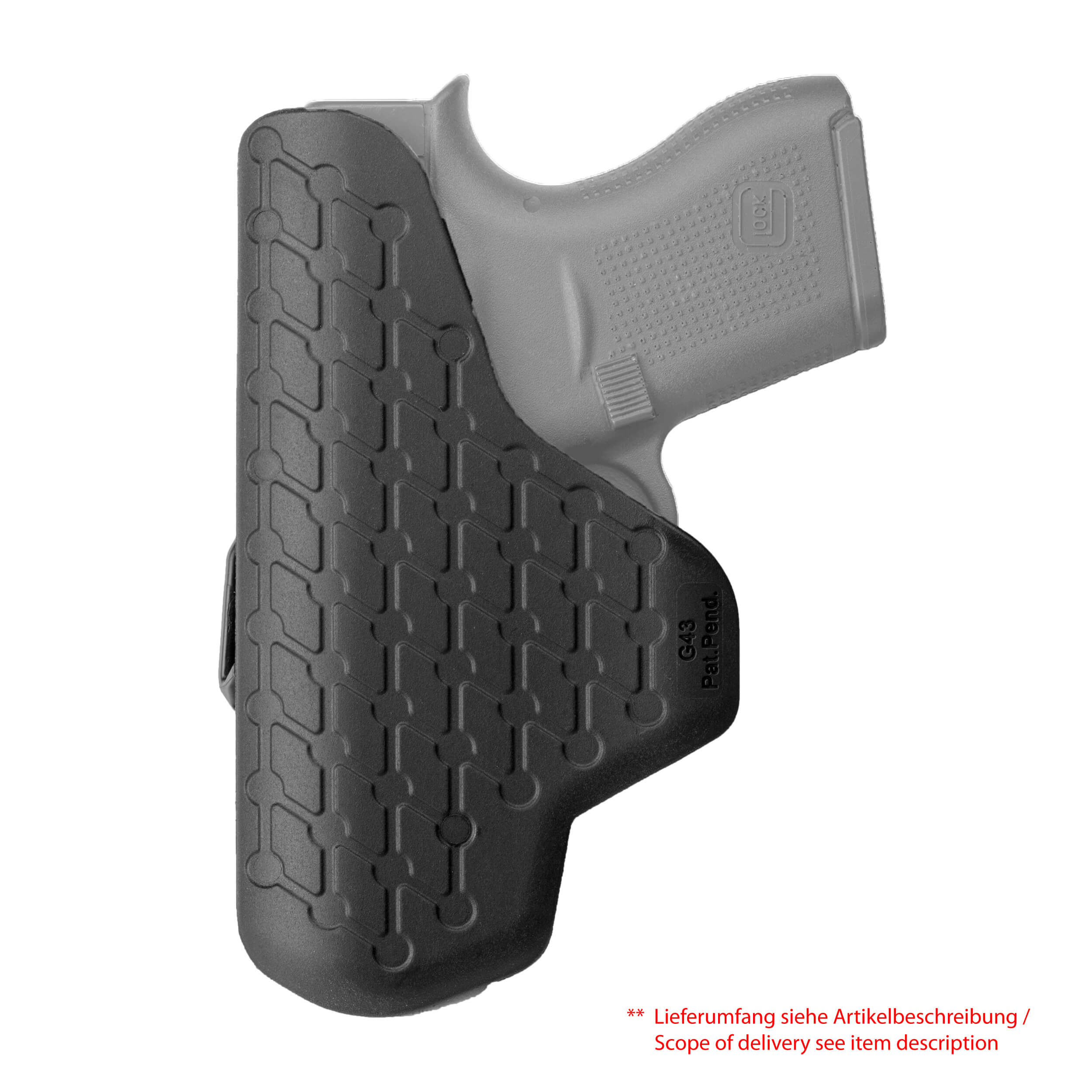IWB Inside Waist Band Holster Glock 43
