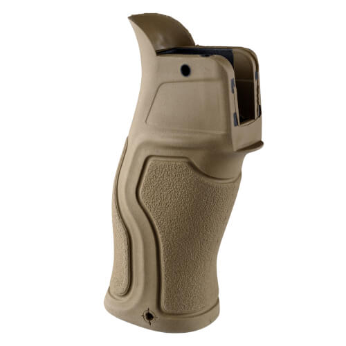 Gradus rubberized pistol grip with 15 degree angle for M16 / M4 / AR-15