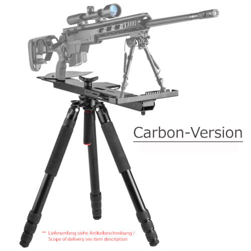 MANTIS KIT LIGHTWEIGHT SNIPER PLATFORM Kit-Carbon