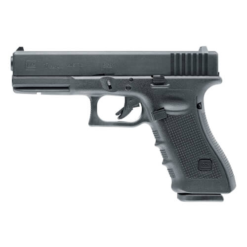 Airsoft GLOCK 17 Gen4 with metal slide and blowback (gas)