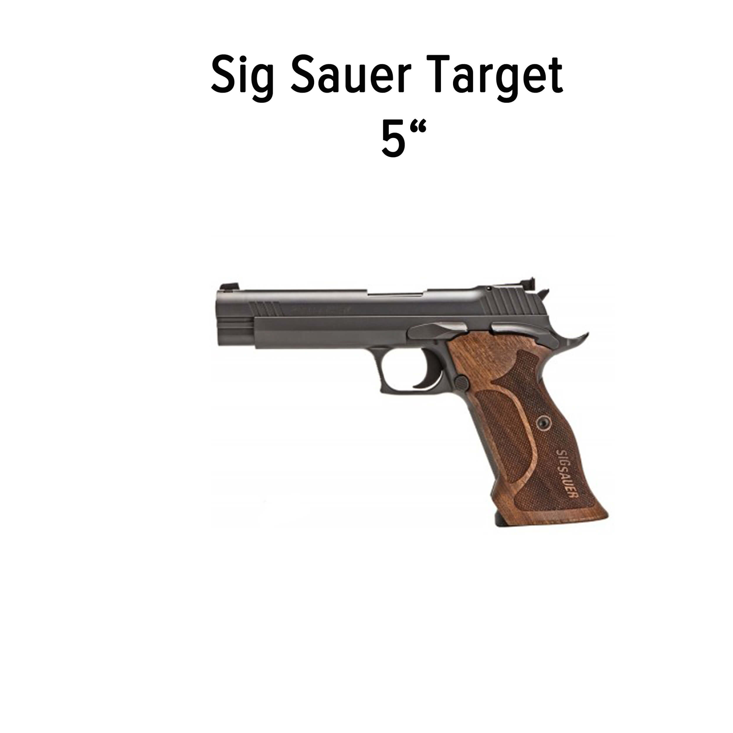 "Sig Sauer P210 Target - Recoil Rod length 3,87 "" / 98,3mm"