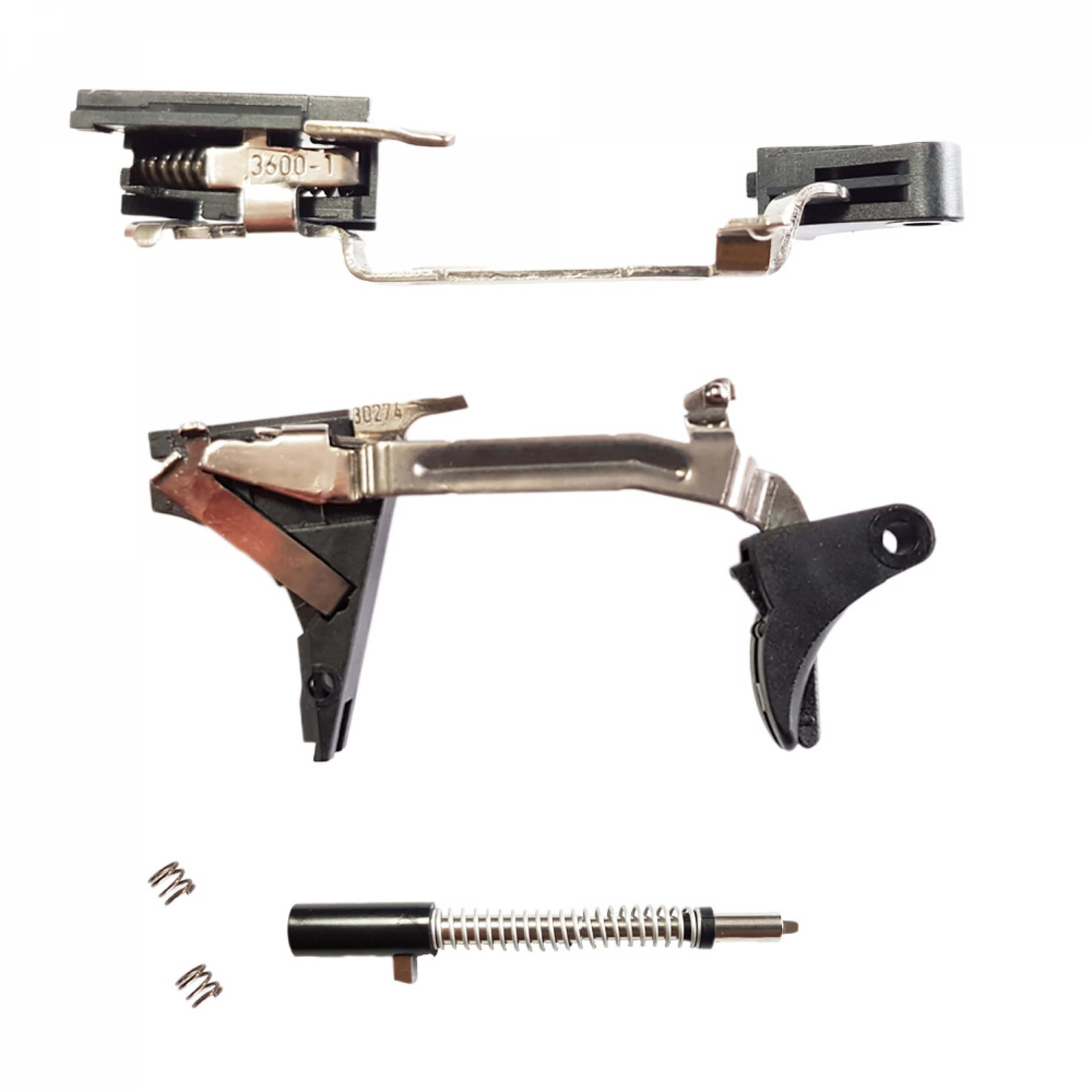 LA-GRT-V  Reset Trigger Glock 9mm / .40 S & W / .357 SIG - Gen 5