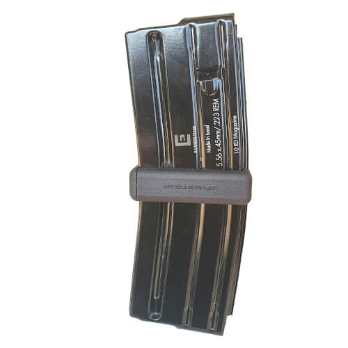ISS Protectiontrade Magazine Coupler with 2X E-Lander 10R 5.56 x 45 mm / .223 REM Steel Magazines