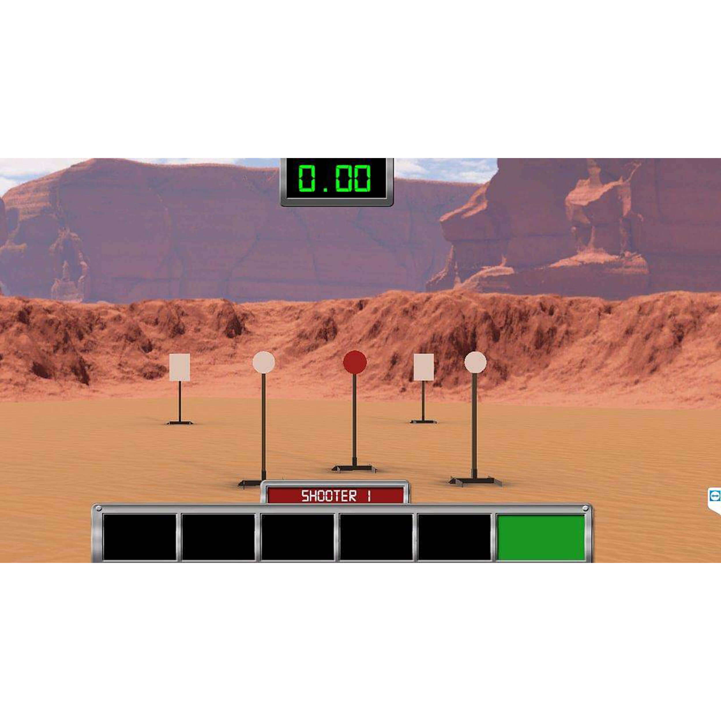 Competitive Shooter  - Steel Challenge - CSSC001
