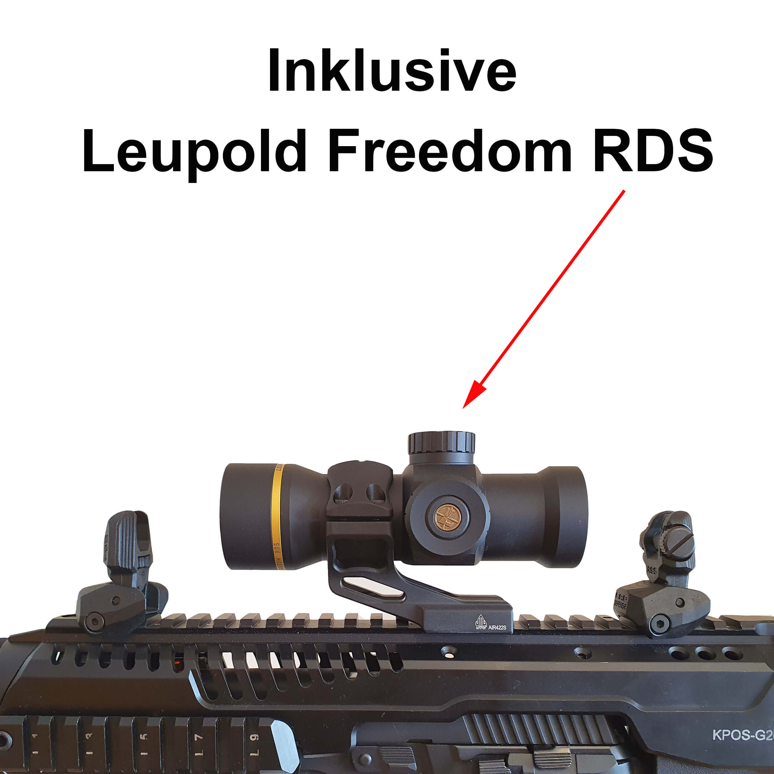 KPOS G2 incl. Leupold Freedom RDS