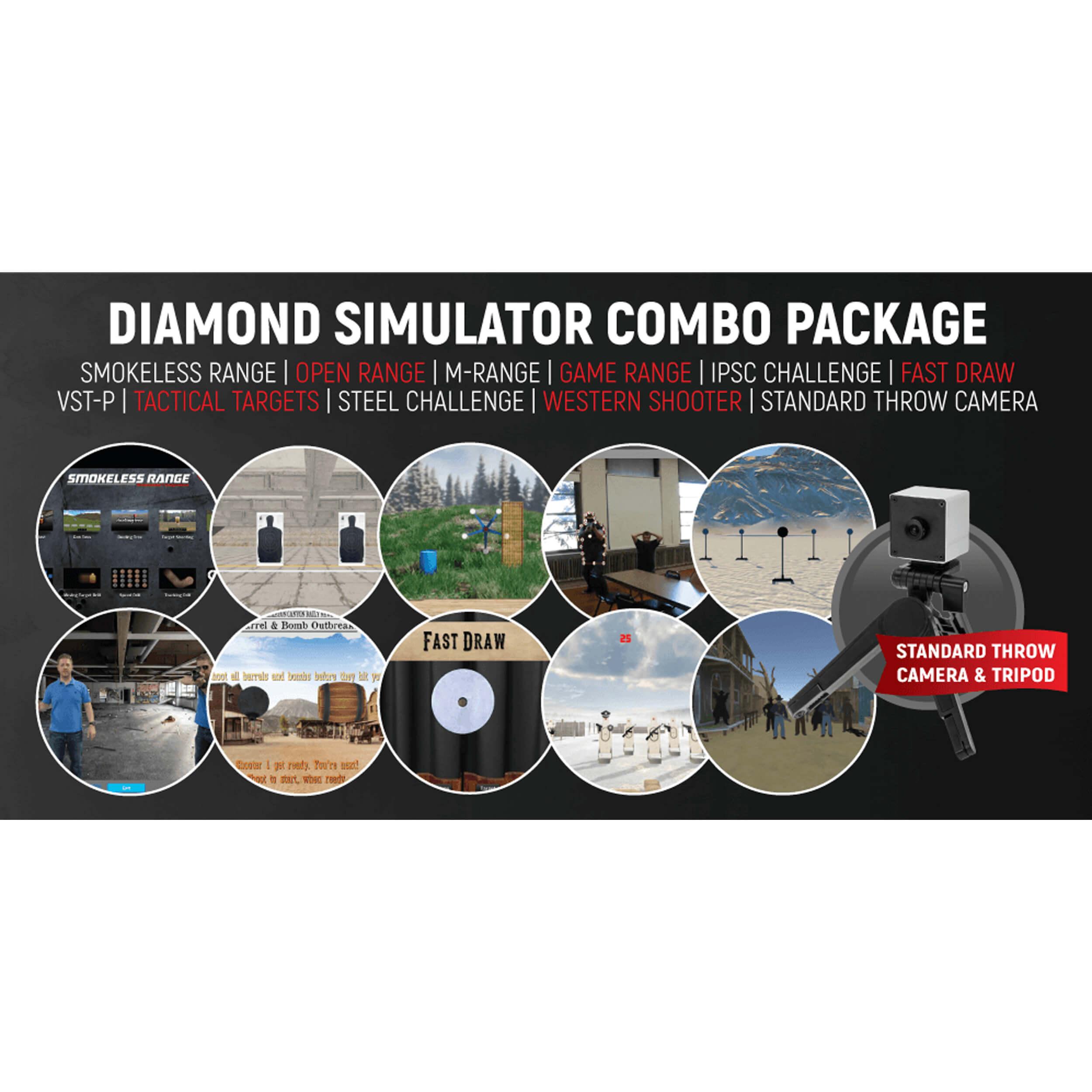 Diamond Smokeless Range ® Simulator Combo Package - DSCP002