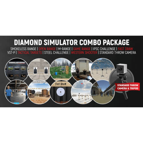 Diamond Smokeless Range ® Simulator Combo Package - DSCP002