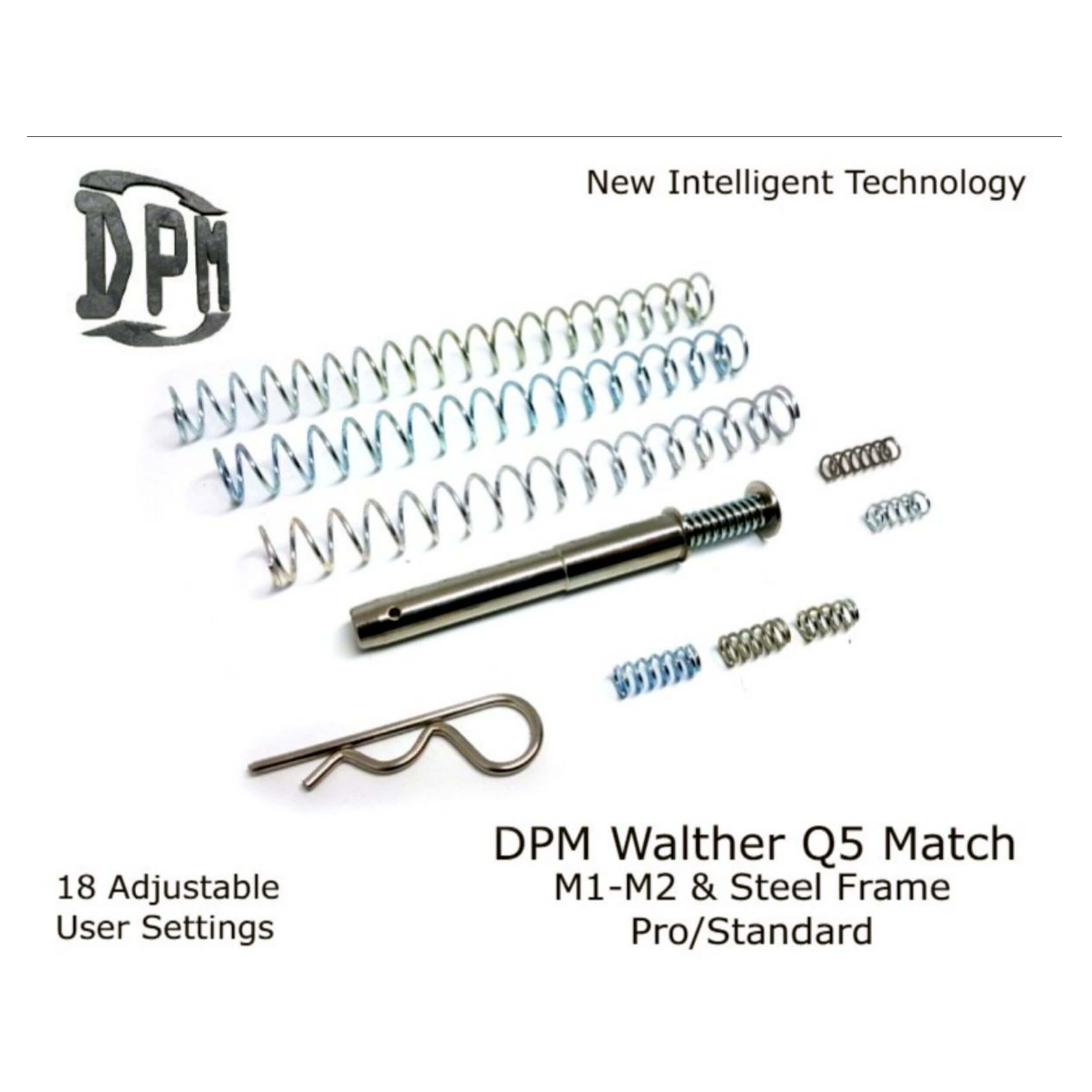 WALTHER Q5 Match M1 M2 & Steel Frame