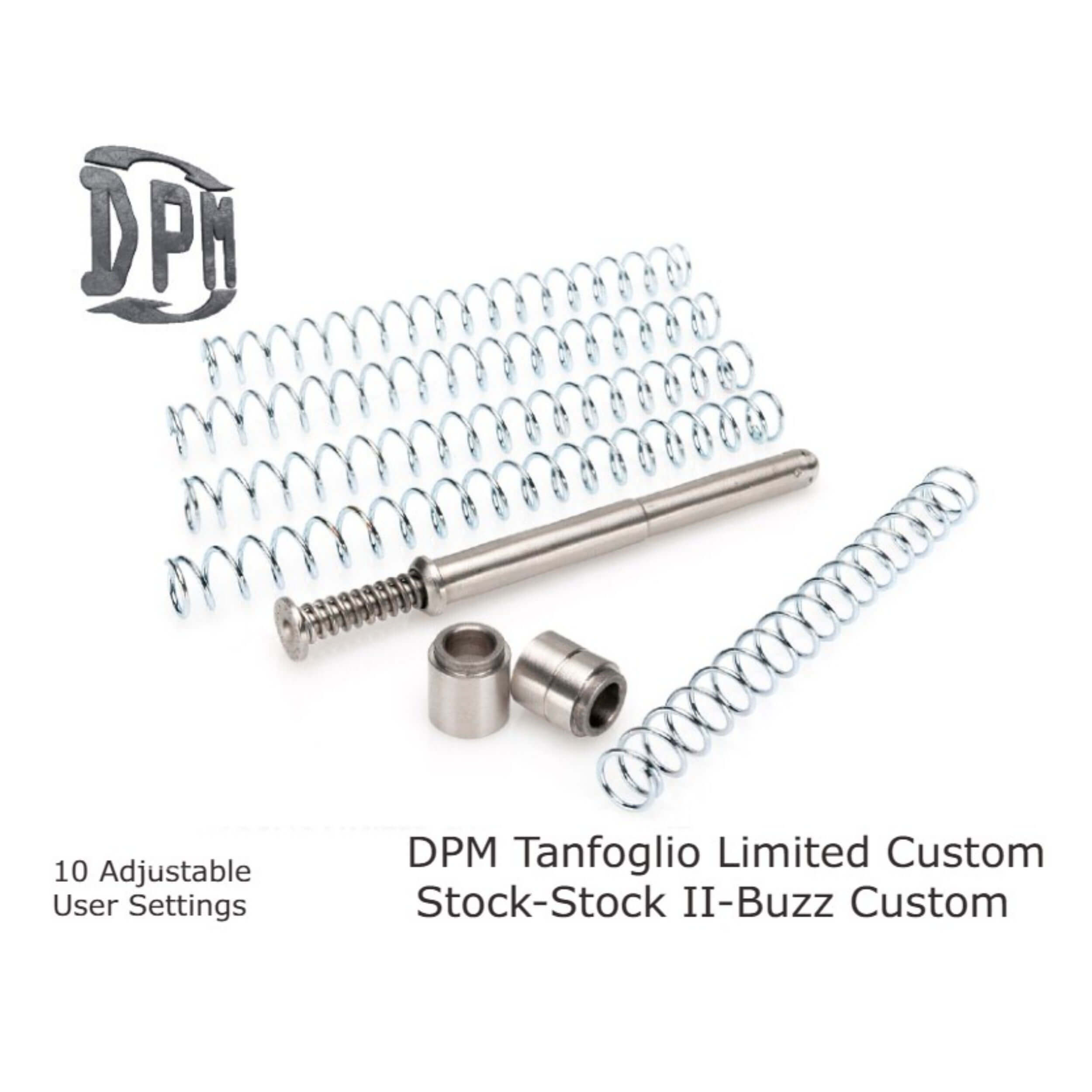 Tanfoglio Limited Custom - Stock - Stock II - Buzz Custom - 10 Settings All Calibers
