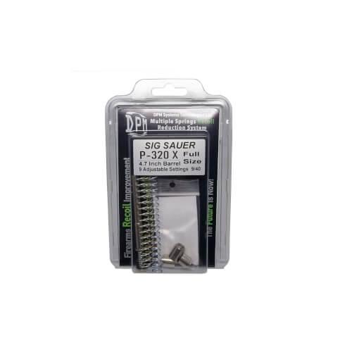 "Sig Sauer P320 X Full Size 9 User adjustable settings Barrel 4,7"" / 9mm , 40S&W"