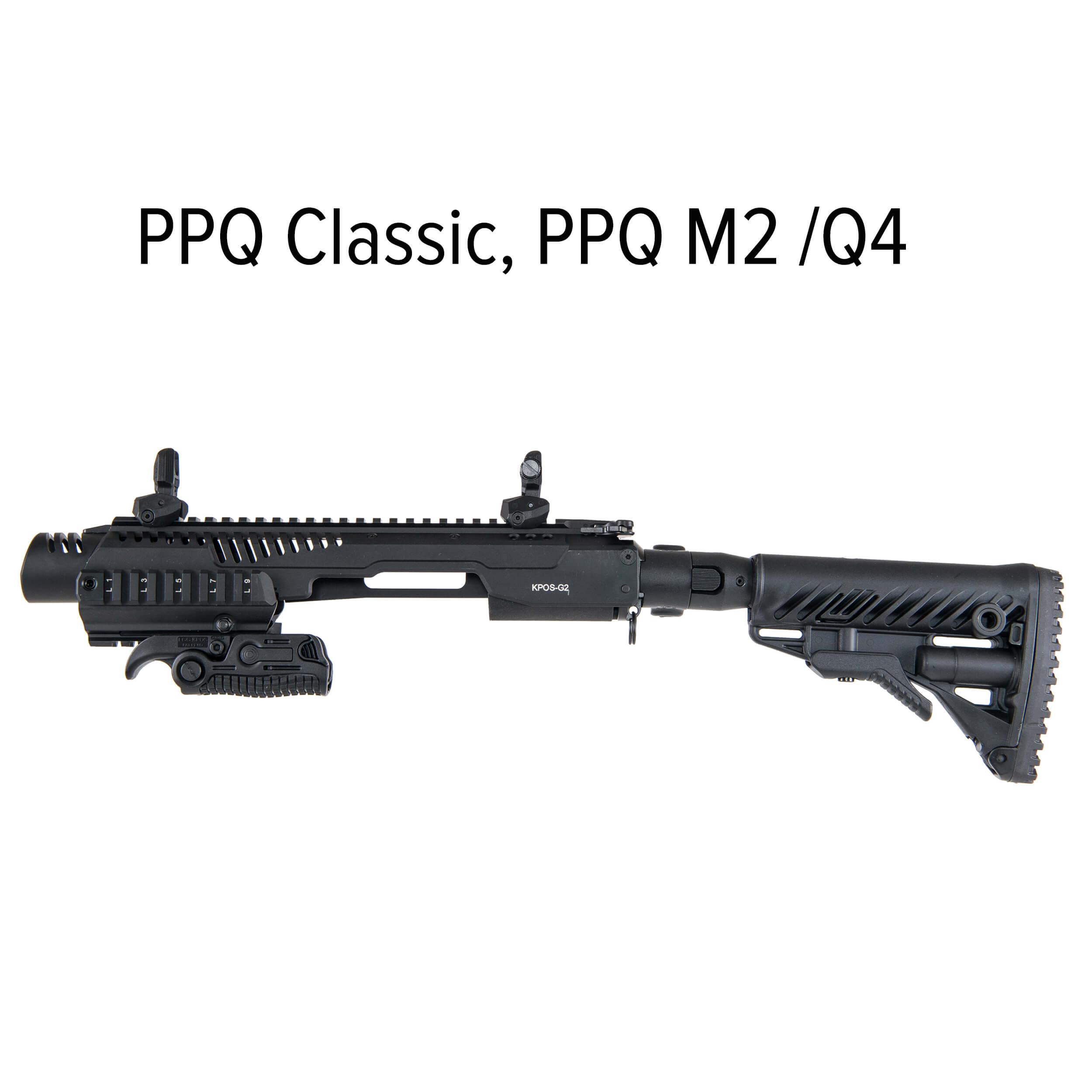 KPOS G2C Walther PPQ